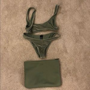 Triangl Aimee bikini L top and M bottom set.
